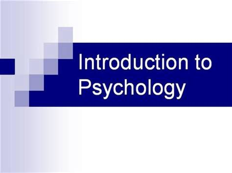Psychology and architecture thesis